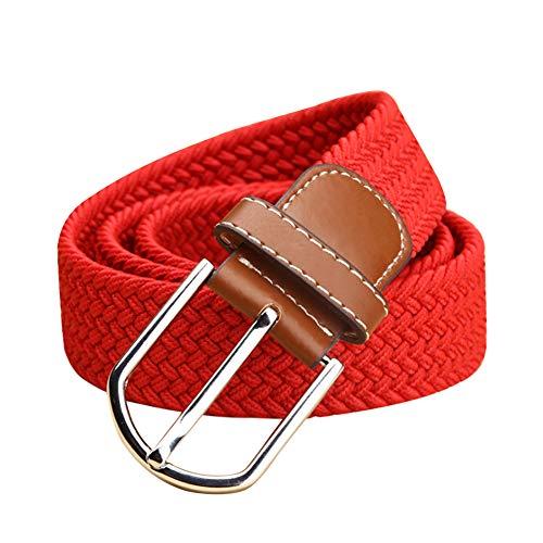 Daytwork Cinturon Cinturon Hombre Marron - Cinturón Deportivo Unisex Complementos Cintura Lona...