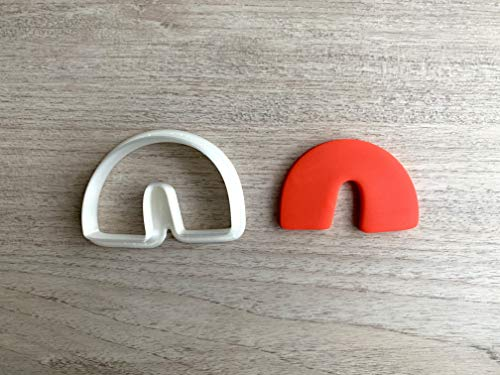 Abstract Arch 1 Cookie Cutter Fondant Cutter