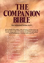 The Companion Bible, Indexed (Black Bonded Leather)