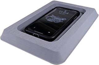 SeaDek- Foam Cell Phone Dash Holder   with Adhesive Back, Durable, Secure, Thick Pad. Boat Accessories, (Storm Gray)