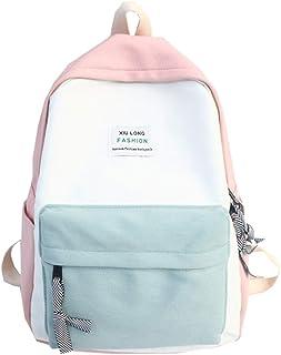 comprar comparacion Mochila Casual Niñas Moda Estilo Japonés de Color Sólido Negocios - FossenStu Mochila Escolar, Bolsa de Viaje, Bolsa de Al...