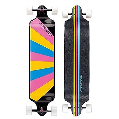 Osprey Longboard-Skateboard mit Doppelspitze, mehrere Stile