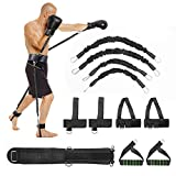 VAlinks Speed and Agility Resistance Bands Trainer for Vertical Jump and Agility Squat Boxing MMA Taekwondo Karate Bounce Softball Basketball Volleyball Football Training