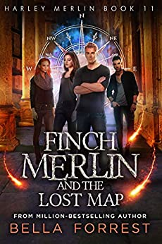Harley Merlin 11: Finch Merlin and the Lost Map by [Bella Forrest]