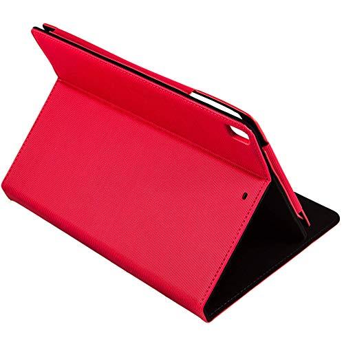 Silver HT - Funda Wave para Apple iPad Air 1, 2 y iPad Pro de 9.7' Rojo