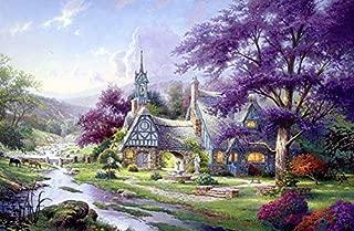 Thomas Kinkade - Clocktower Cottage Puzzle - 1000 Pieces
