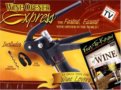 Corkscrew plus Secrets of Wine DVD