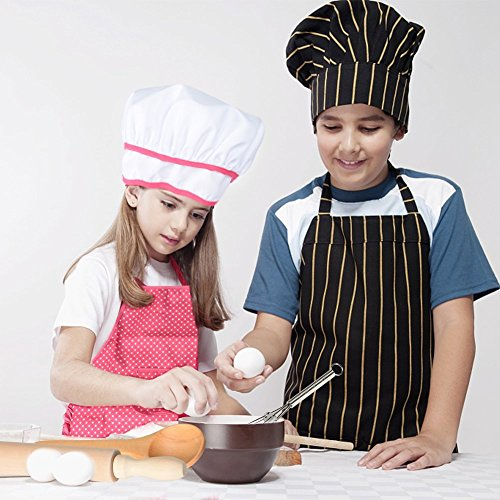 Product Image 4: Cooking, Baking Set, Chef Hat, Oven Mitt, and Other Cooking Utensils for Kids