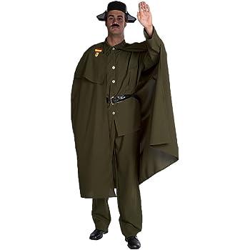 Disfraz de Guardia Civil con Capa para hombre: Amazon.es: Juguetes ...