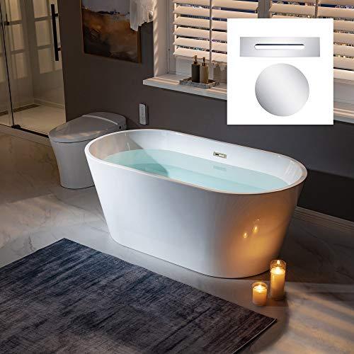 WOODBRIDGE B0014-C-Drain &O Bathtub, Chrome