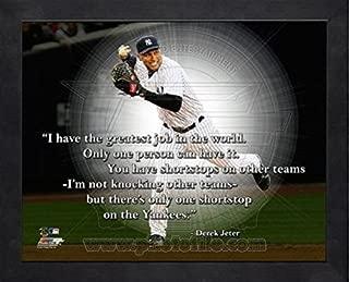 Derek Jeter New York Yankees ProQuotes Photo (Size: 9