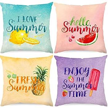 Best summer throw pillows Reviews