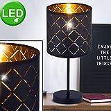 Lampada da tavolo Lampada da lettura laterale Lampada da lettura modello tessile Incluso LED Illuminante