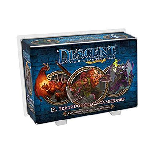 Fantasy Flight Games - Descent: El tratado de los campeones, Español , color/modelo surtido