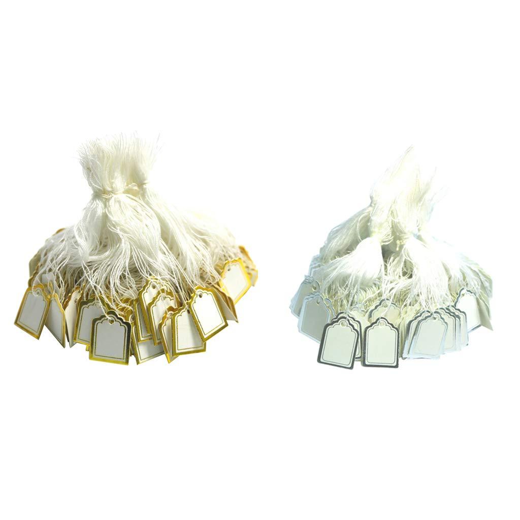 Homyl 1000 Pcs Brand Cheap Sale Venue White Surprise price Blank Price Tags Jewelry Cloth Tag Writable