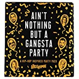 The Little Homie - Ain't Nothing But A Gangsta Party Pack - Complete Hip Hop Inspired Birthday Theme Setup - 108 Items