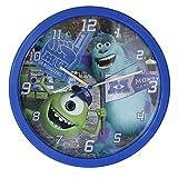 Monster University - pendule murale - Sully et bob - Monstres Acacdemy