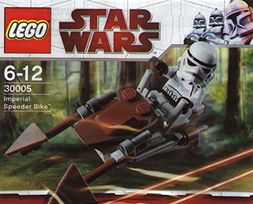 LEGO Star Wars Set #30005 Imperial Speeder Bike by