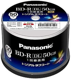 パナソニック 録画用6倍速ブルーレイディスク 50GB(追記型)スピンドル50枚 LM-BRS50M50S