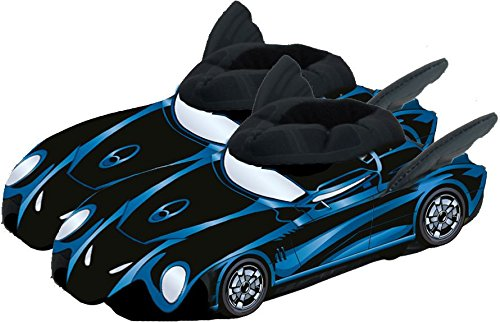 Batman 0122065 - 3D Hausschuhe, Batmobil, Größe 38/40