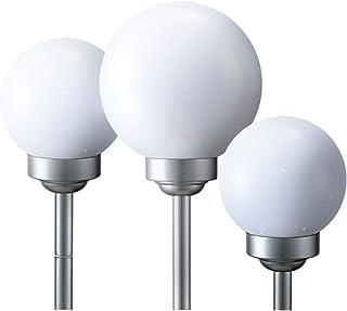 Deckenlampe Lampengläser satiniert Klarrand leuchte incl 4 x 9 W Leuchtmittel