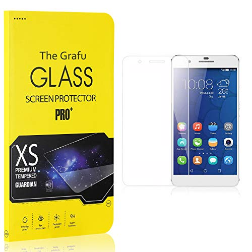 Great Price! The Grafu Screen Protector Compatible with Huawei Mate 9 Lite, Tempered Glass, Scratch ...