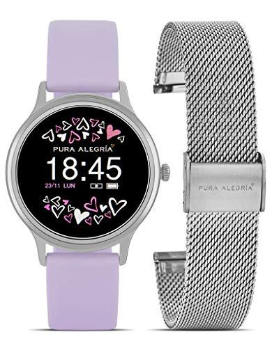 Reloj PURA ALEGRÍA Mujer Lavanda Smart Watch