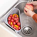 Sink-Strainers-Basket-Kitchen-Triangular-Multifunctional-Drain-Shelf-Sink-Storage-Holder-with-Suction-Cup-Sink-Sponge-Holder-Support-Corner-Soap-BoxOrganizer-for-Kitchen-Bathroom-Support-Corner-Grey
