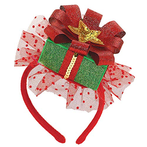 amscan Fun-Filled Christmas and Holiday Party Gift Fascinator (1 Piece), 8' x 5', Multicolor