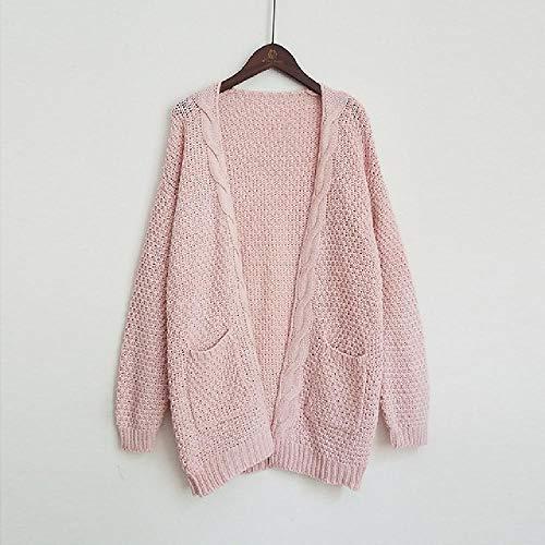 OKJI vest truien vrouwen trui gebreide lange mouwen breigoed meisje casual bovenkleding Winter Pull Plus grootte