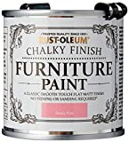 Rust-Oleum AMZ0042 A Classic, Smooth Touch Flat matt Paint Finish, Dusky Pink, 125 ml (Pack of 1)