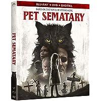 Pet Sematary [Includes Digital Copy] [Blu-ray/DVD] [2019]