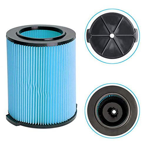 Zealand ing Filtre pour aspirateur Ridgid VF5000-3 Couches en Papier plissé