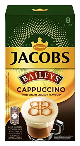 Jacobs Cappuccino Baileys, 80 Kaffeesticks, 10er Pack, 10 x 8 Getränke