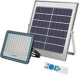 Foco Solar LED 100W,Luz Solar Exterior IP67 Impermeable Luz Blanco-Neutro 6500K ,Iluminación...
