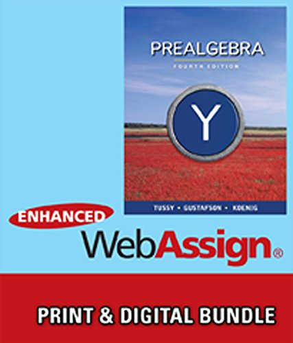 Bundle: Prealgebra, 4th + WebAssign Printed Access Card for