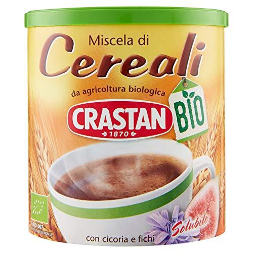 Crastan Solubile - Bevanda Di Cereali Biologica - 125 Gr - [Confezione Da 6]
