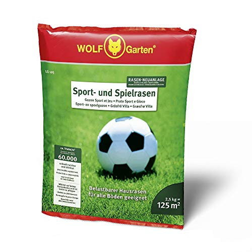 Wolf-Garten Sport- und Spiel-Rasen LG 125 Rasensamen