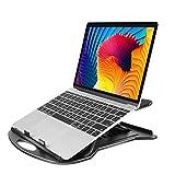 HUANUO 360° Drehbar Laptop Ständer Faltbar mit 7 einstellbaren Winkeln für 11-15