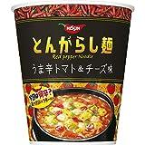 とんがらし麺 うま辛トマト&チーズ 66g ×12食