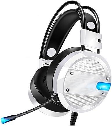 Wsg Cuffie PC Gaming Microfono per PS4, Xbox One Zenoplige Cuffia da Gioco Gamer Stereo LED Luce per PC Laptop Tablet Mac Tablet iPad MP3 MP4 iPhone Smartphone - Trova i prezzi più bassi