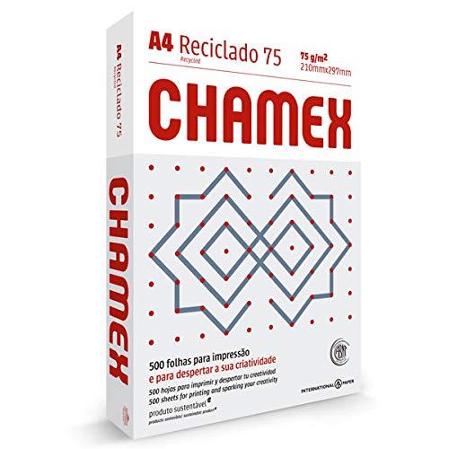 Papel Sulfite Chamex A4 Reciclado 75g
