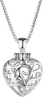 Solid 925 Sterling Silver Zircon Heart Pendant