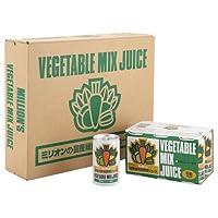 ミリオンの国産緑黄色野菜ジュース(30缶) (野菜22種類・260g使用)