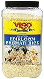Vigo Heirloom Basmati Rice, 2 Pound (Pack of 4)