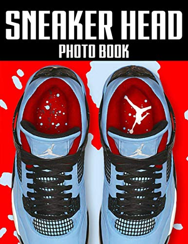 Sneaker Head Photo Book: Nice Sneaker Head Photo & Image Books For Adult And Kid