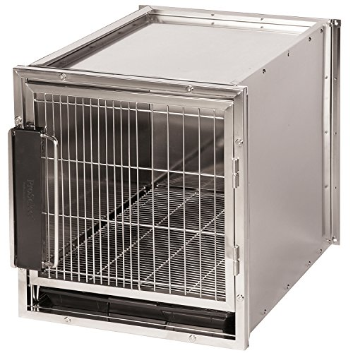 Pro Select Stainless Steel Modular Kennel, Small