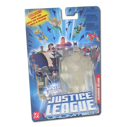 Justice League Unlimited Martian Manhunter Action Figure [Invisible] (Mattel Toys)
