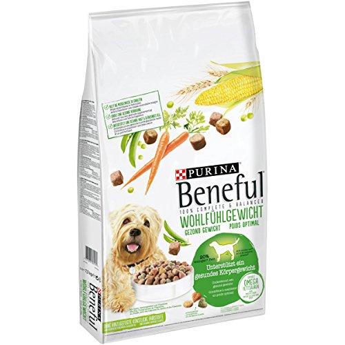 Purina Beneful Hundetrockenfutter Wohlfühlgewicht (mit Huhn, Gartengemüse und Vitaminen) 7,5kg Sack