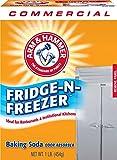 Arm & Hammer 3320084011CT Fridge-N-Freezer Pack Baking Soda, Unscented, Powder, 16 Oz, Pack of 12
